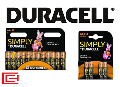 Battery Range - Duracell