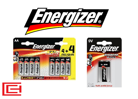 Battery Range - Energizer