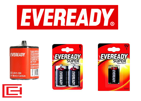 Battery Range - Eveready