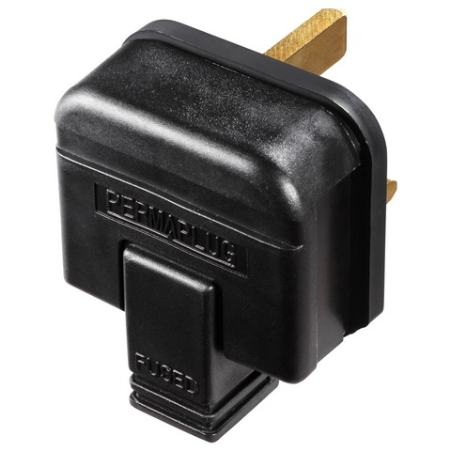 13 Amp Rubber Plug Top