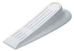 (X1) White Pvc Door Wedges
