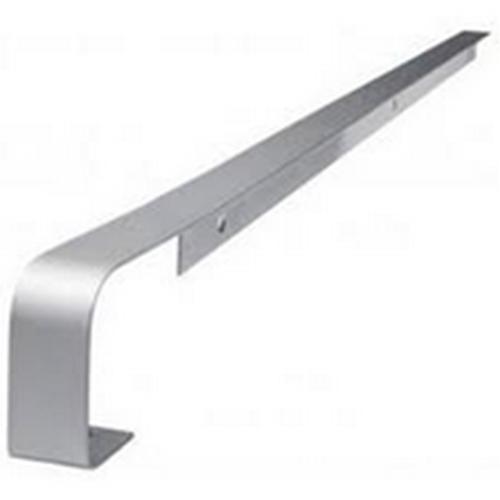 Worktop Straight Joint 40mm Matt Silver