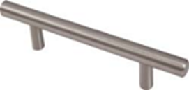 T - Bar Handle Satin Nickle 128mm
