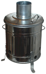Galv Mini Incinerator 15L