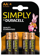 Duracell AA 4-Pack