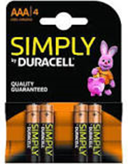 Duracell AAA 4-Pack