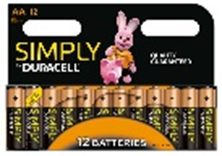 Duracell AA Multi Pack Of 12