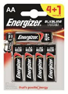 Energizer AA 4 + 1 Foc-Pack