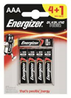 Energizer AAA 4 + 1 Foc-Pack