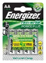 Energizer AA Rechargable Battery Pack Of 4