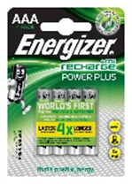 Energizer AAA Rechargable Battery Pack Of 4