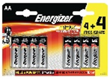 Energizer Max AAA 4 + 4 Multipack