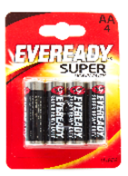 Eveready AA 4-Pack