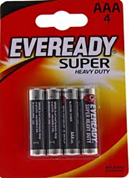 Eveready AAA 4-Pack