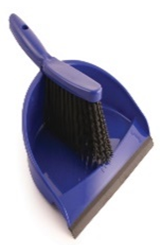 Dustpan & Brush Blue