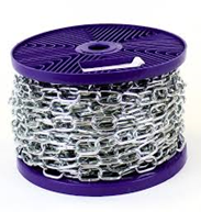 Chain 4mm X 26mm Bzp 30M Reel