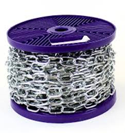 Chain 5mm X 28mm Bzp 25M Reel