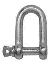 Dee Shackle 6mm (4 Pack)