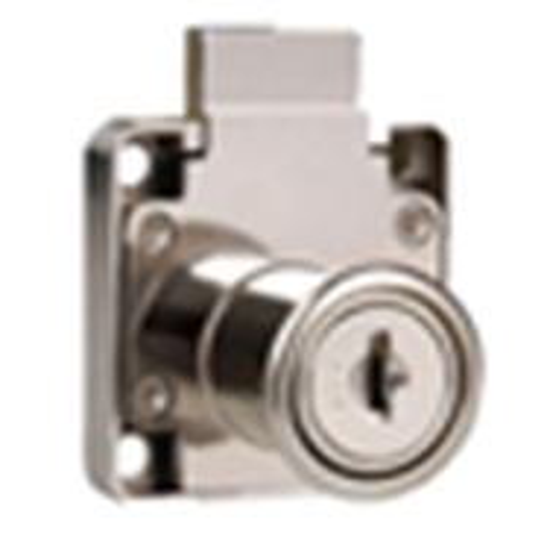 Cylinder Drawer Lock Nickel