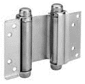 Double Action Hinge Silver 100mm
