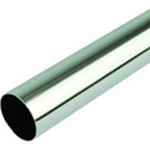 Round Tube Chrome 4Ft X 25mm