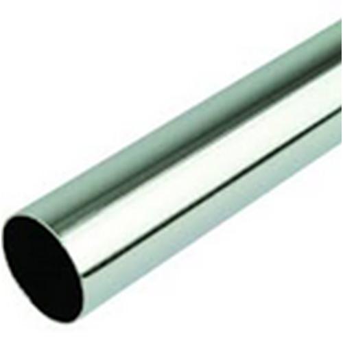 Round Tube Chrome 6Ft X 25mm