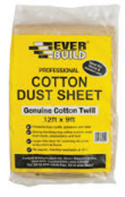 Cotton Dust Sheet 12Ft X 9Ft