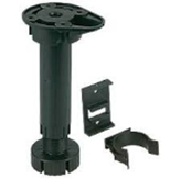 Kitchen Plinth Foot Set Black