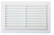 Louvered Vent & Screen White 9 X 3