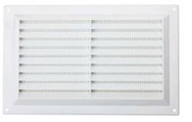 Louvered Vent & Screen White 9 X 6