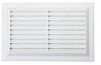 Louvered Vent & Screen White 9 X 9
